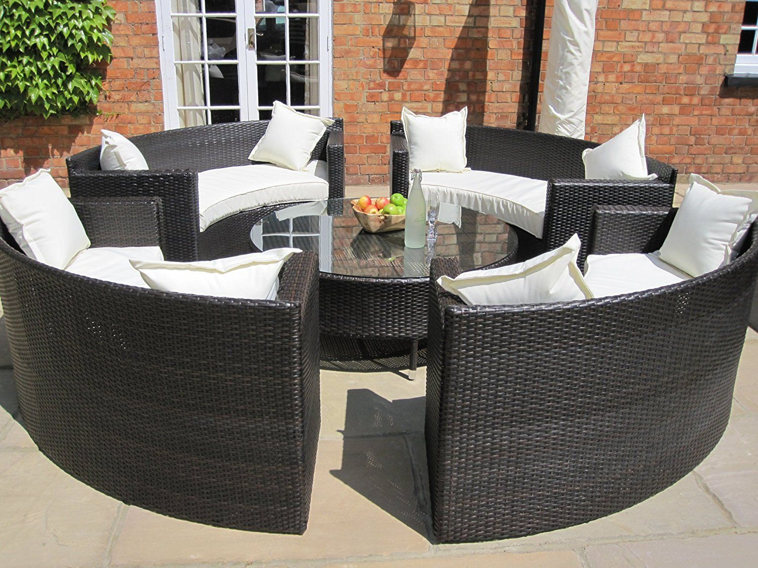 Durable outside rattan garden furniture – darbylanefurniture.com
