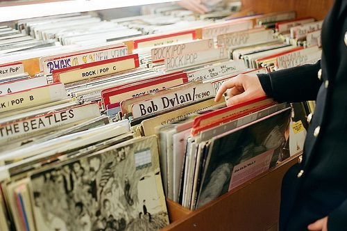 record stores.