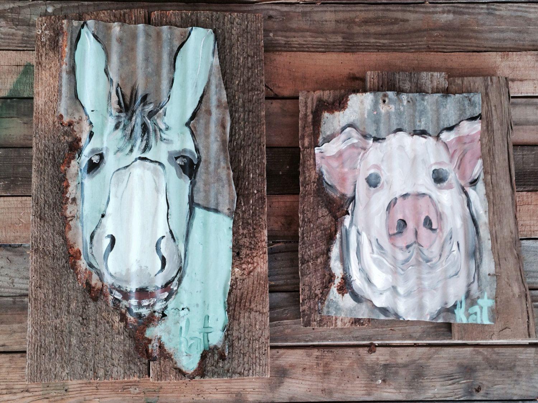 Paintings Barn Wood Mizippihippi 55.00