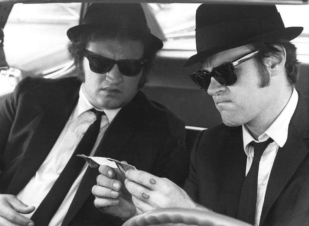John Belushi  Dan Aykroyd Blues Brothers  Not Ready -4847