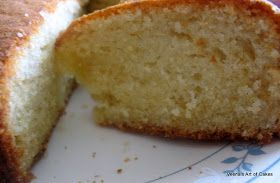 Veena's Art of Cakes: Butter Pound Cake - Perfect for carving.