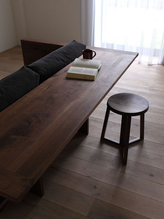 Coup de cœur  un meuble deux en un, un canapé et un bureau Bois