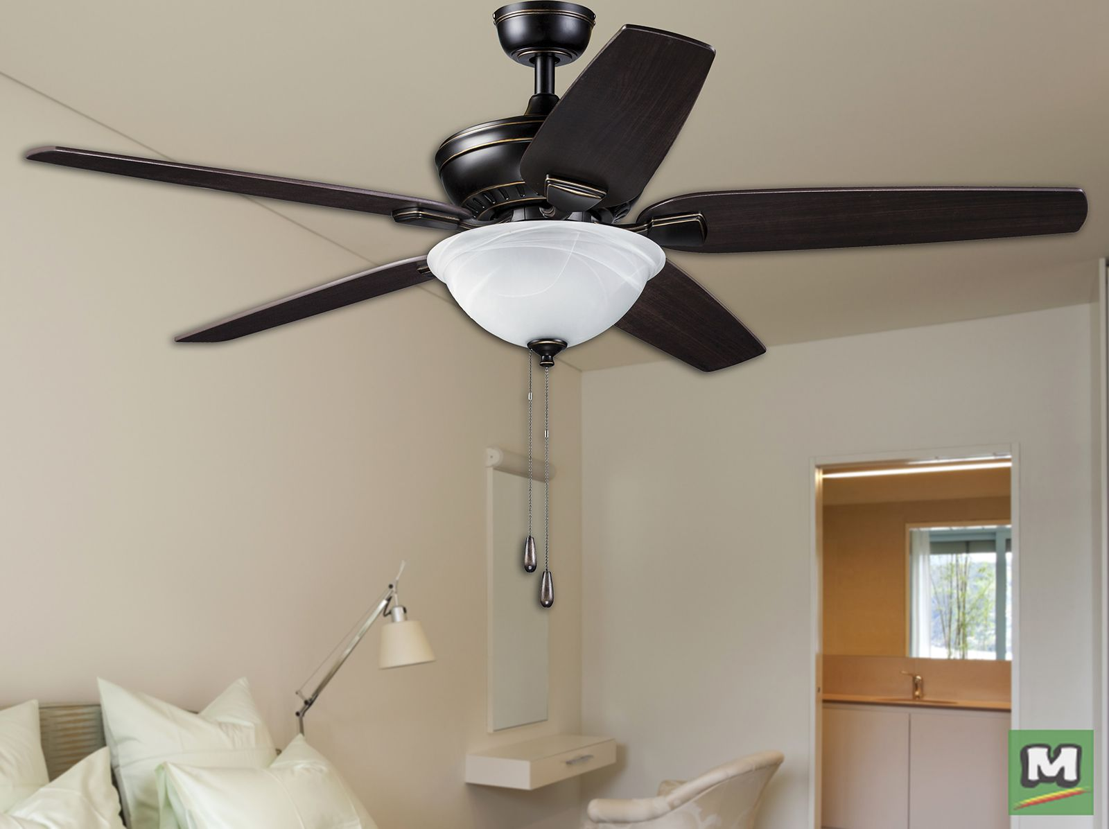 The Turn Of The Century Lincoln Park 52 Indoor Ceiling Fan