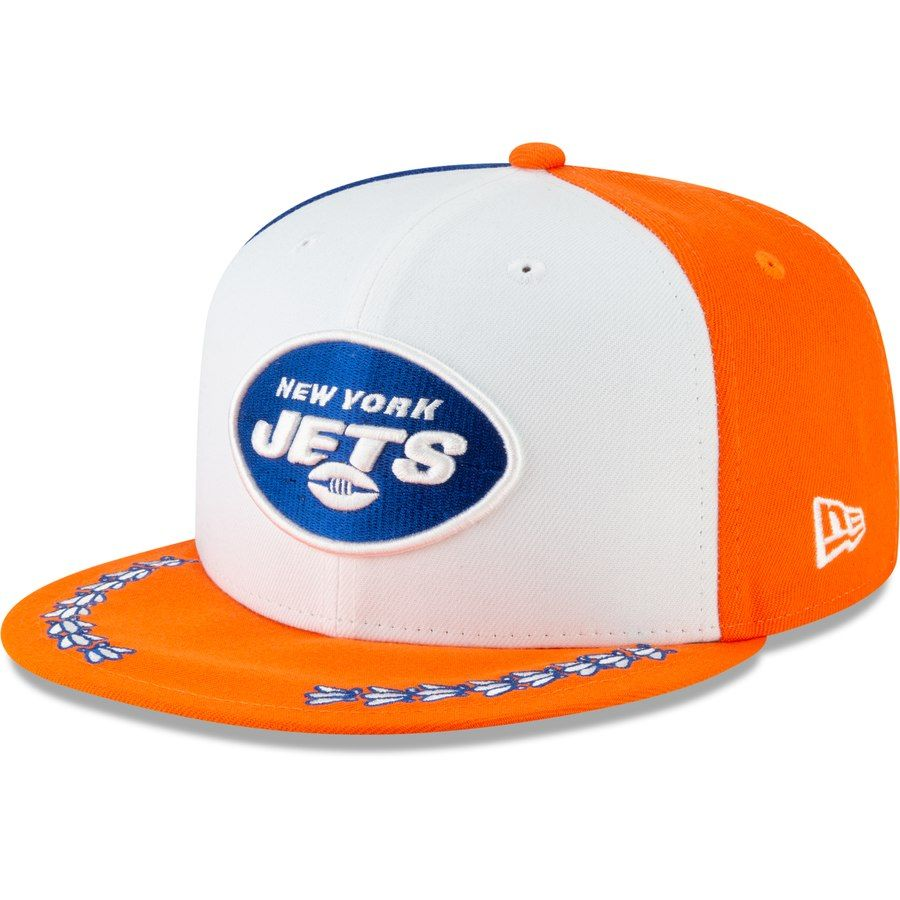 promo code 151b4 379fa New York Jets New Era 2019 NFL Draft Spotlight 9FIFTY Adjustable Snapback  Hat – White,