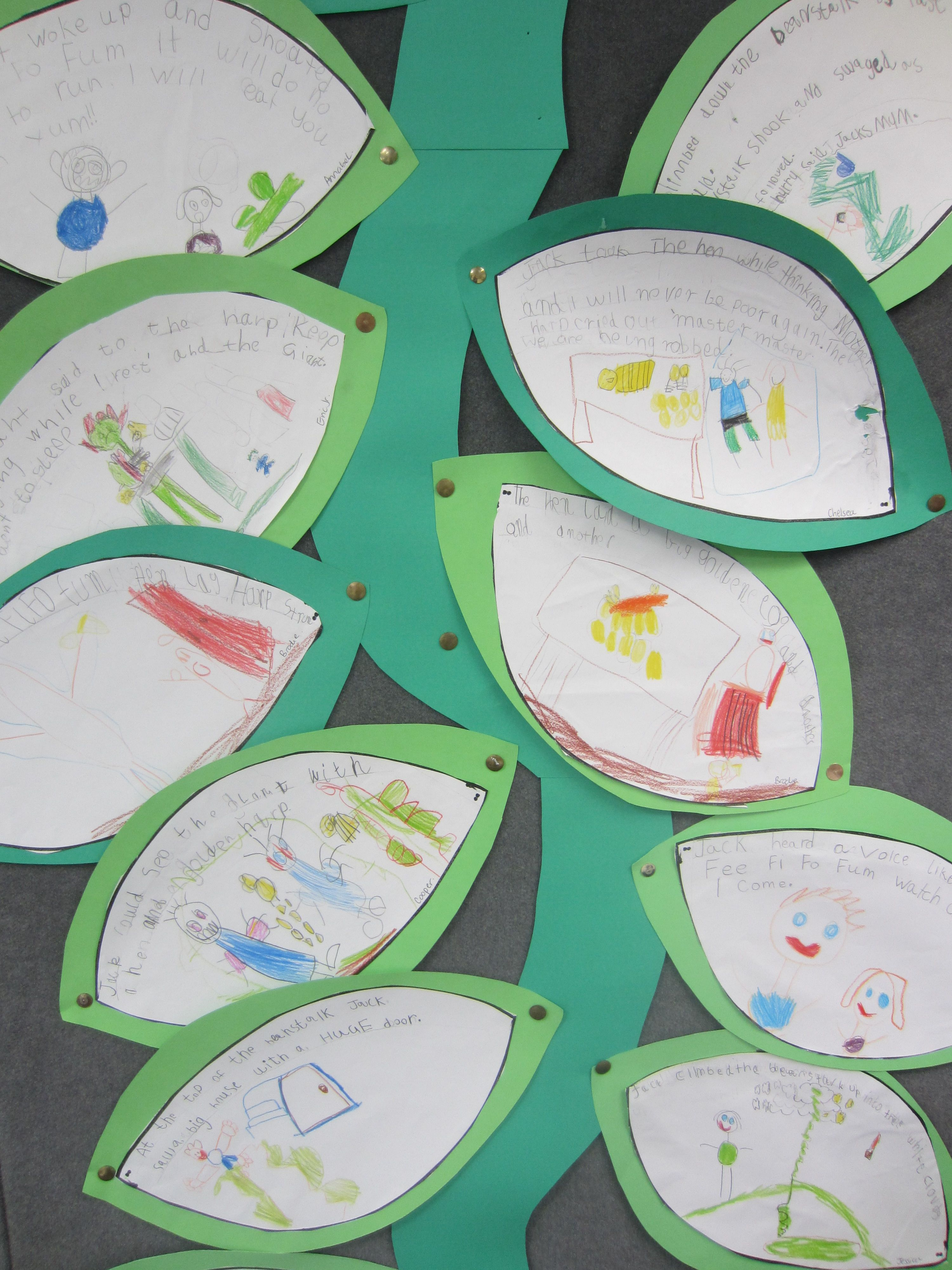 Image Result For Jack And The Beanstalk Words On Leaves