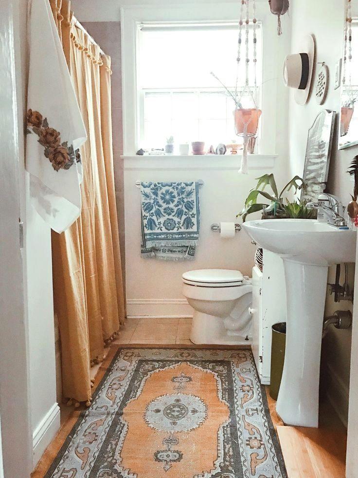 Home Interior Design — Area rug in bathroom | Cute ... on Small Area Bathroom Ideas  id=99638