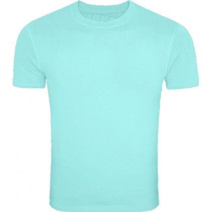 teal shirt plain