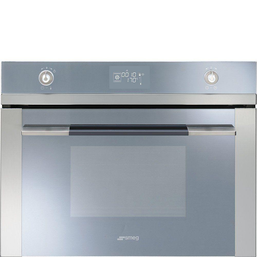 "Smeg SF4120VC ""Linea Series"" Compact Combination Steam Oven ..."