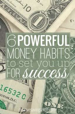 Don`t underestimate the power of habits! These 6 simple steps go a long way in building a strong financial foundation, and with consistent practice, they can dramatically change your life. Small, daily actions WILL help you reach longterm success!