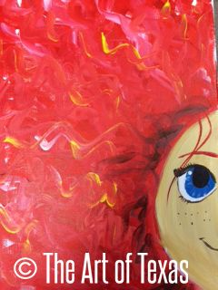 Be Brave painting | The Art of Texas Kids | Midland, Texas
