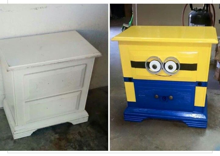 minion dresser awesome ideas pinterest dresser room and craft