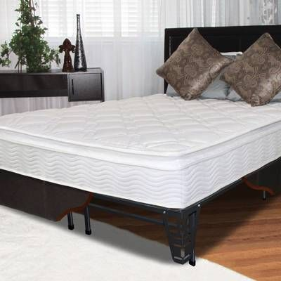 Shyann Twin Over Full Bunk Bed with Drawers #pillowtopmattress