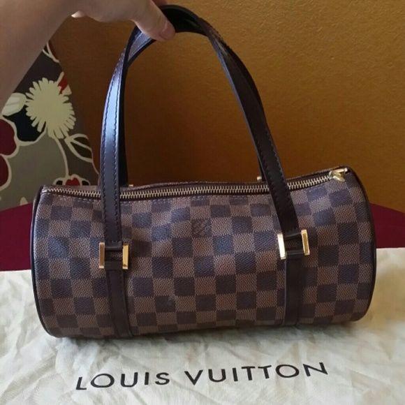 756bc46c2bb Louis Vuitton Damier Barrel Bag Authentic Louis Vuitton Damier ...