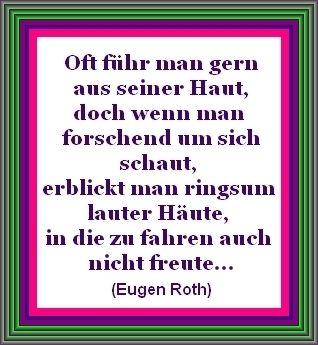 Eugen Roth Worter