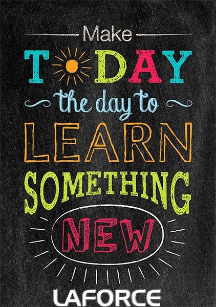 make today the day to learn something new  mondaymotivation