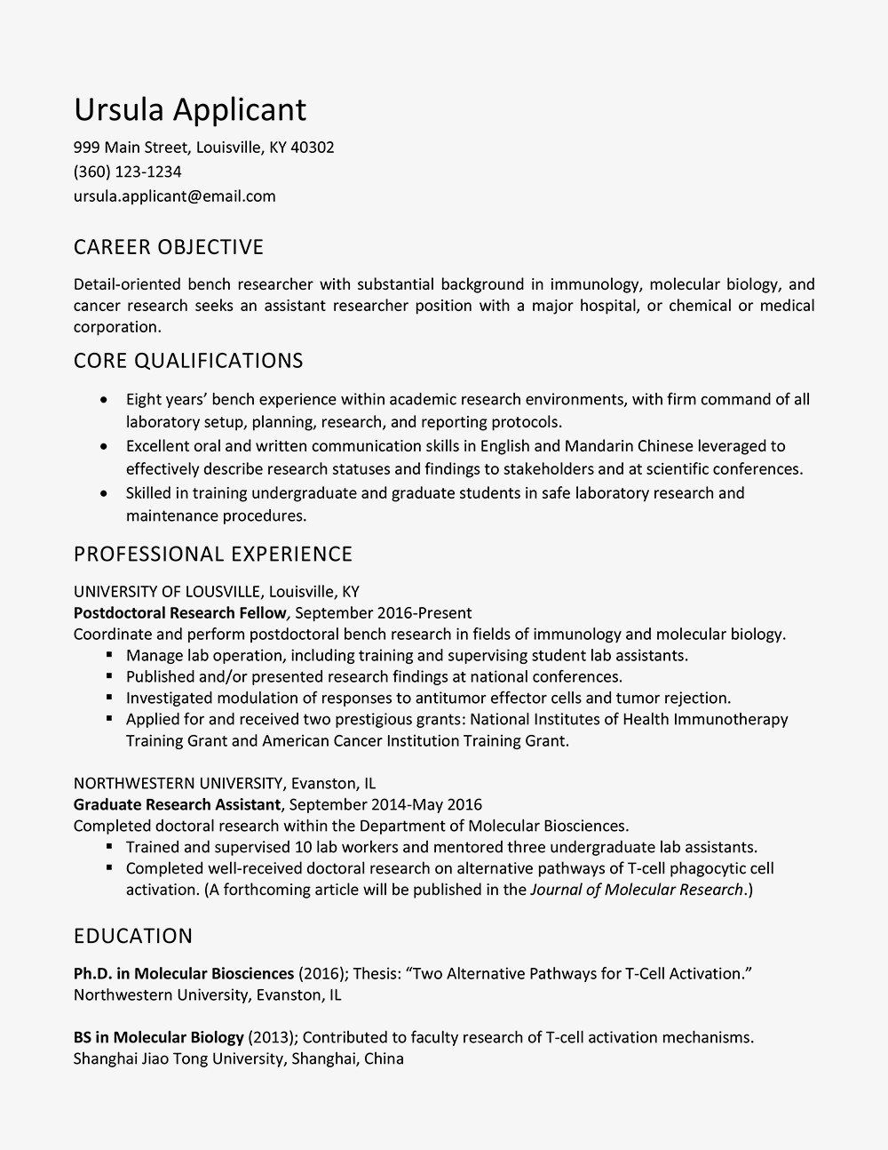 32 elegant resume for research assistant in 2020