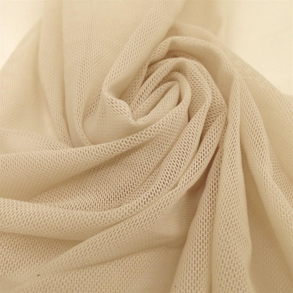 Telio Stretch Nylon Mesh Knit Dark Nude - Discount