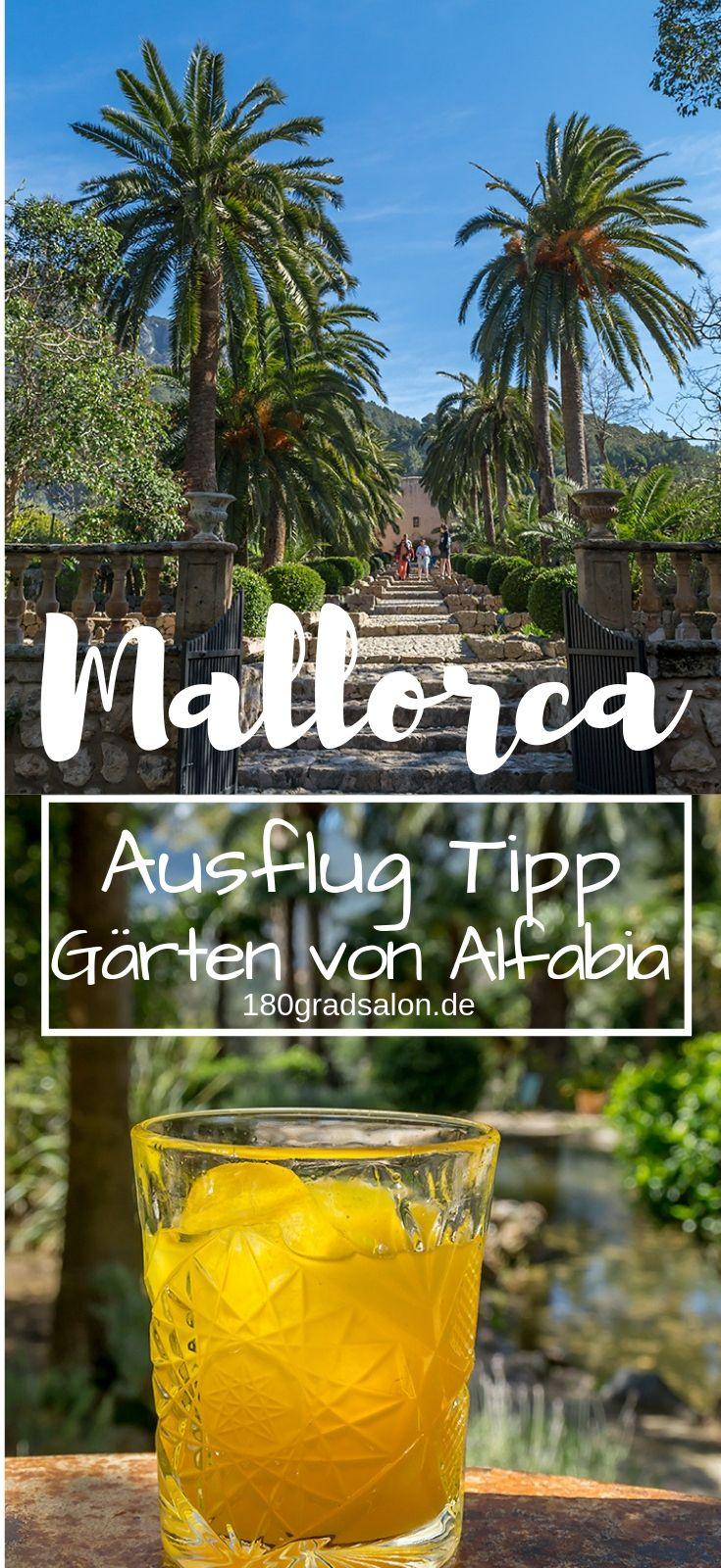 Gärten von Alfabia auf Mallorca - Ausflug Tipp bei Soller #favoriteplaces
