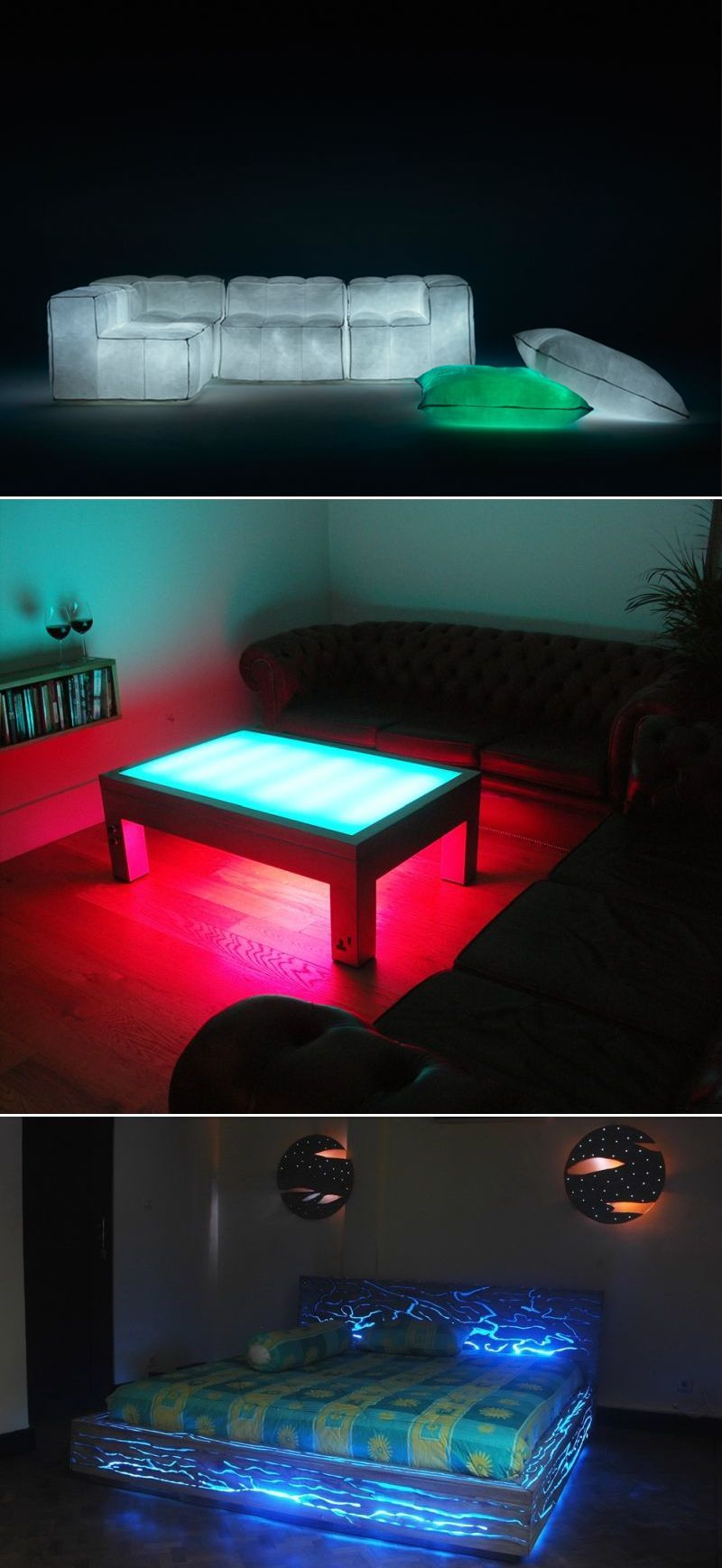 Glow In The Dark Furniture Throughout 30 Glowinthedark Furniture To Enlighten Your Spirits Furniture