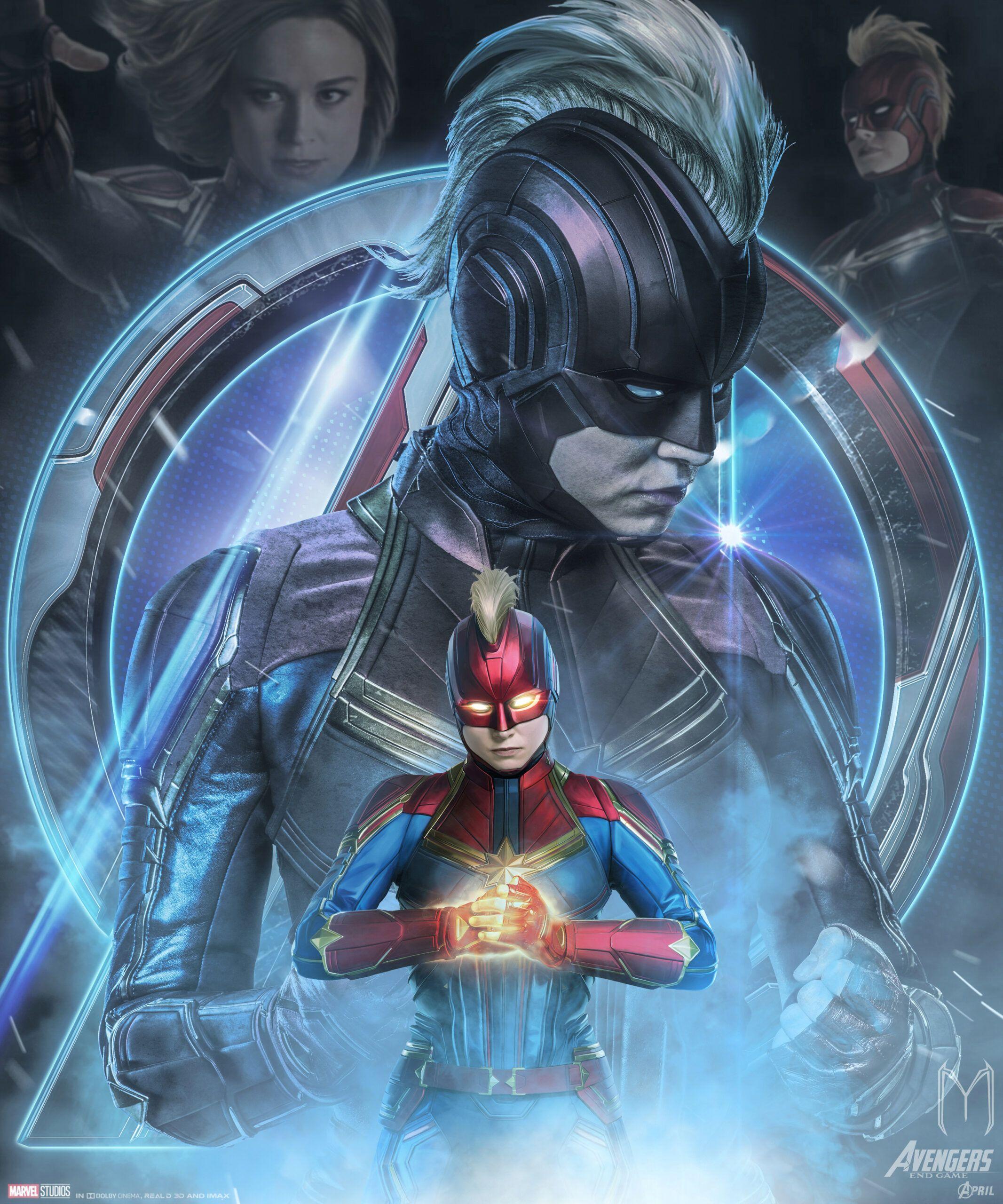 Beautiful Free Avengers Endgame Captain Marvel Poster Art Marvel Posters Marvel Superheroes Marvel