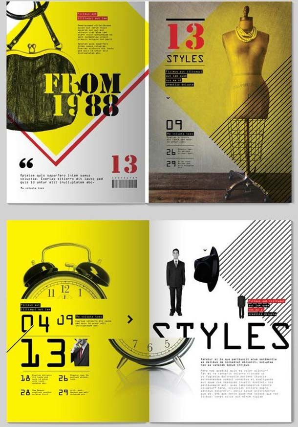 UltraModern Brochure Examples    Graphic Design