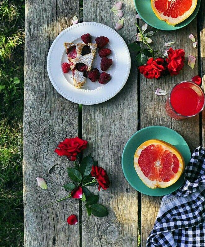 #breakfast #desayuno #summer #summertime #natural #healthy #tealover #tea #redtea #happy