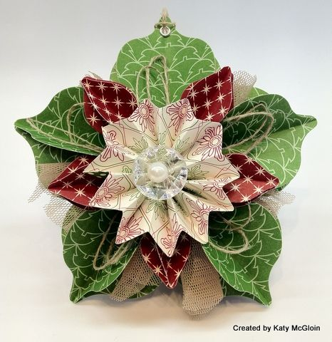 Stampin\u0027 Up! Holiday Catalog Ornament By Katy M Keepsakes