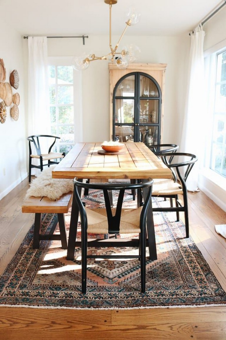 35 Popular Dining Room Design Ideas For Your Dream House Modern Farmhouse Dining Room Modern Farmhouse Dining Farmhouse Dining Room