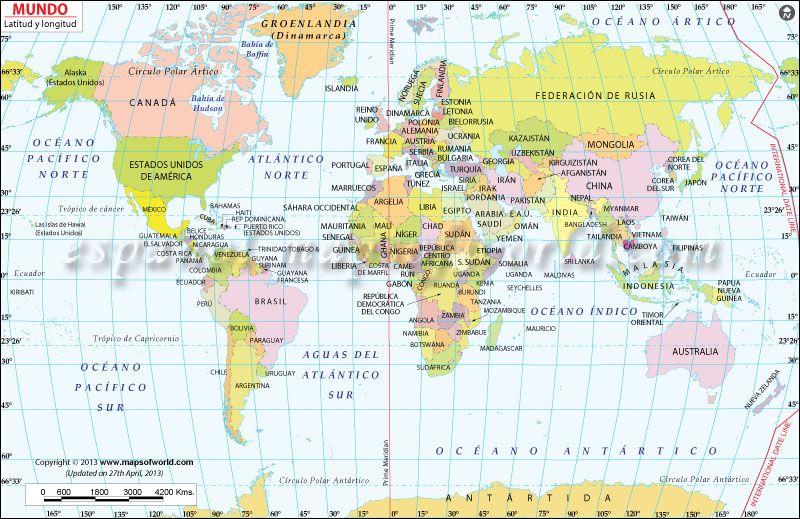 Karta Longitud Karta 2020
