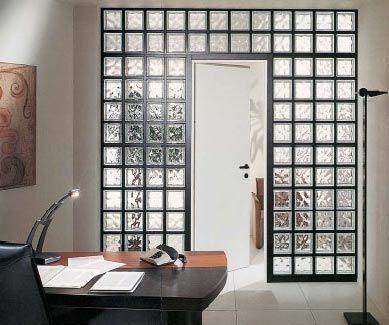 Vetromattone Bagno Ojeh Net Parete Tortora Arredi Bianco Glass Blocks Wall Home Room Design Glass Blocks