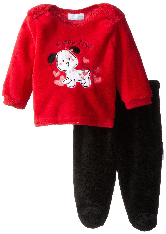 dee86a73b Amazon.com  Vitamins Baby Baby-Girls Puppy Love 2 Piece Superplush ...