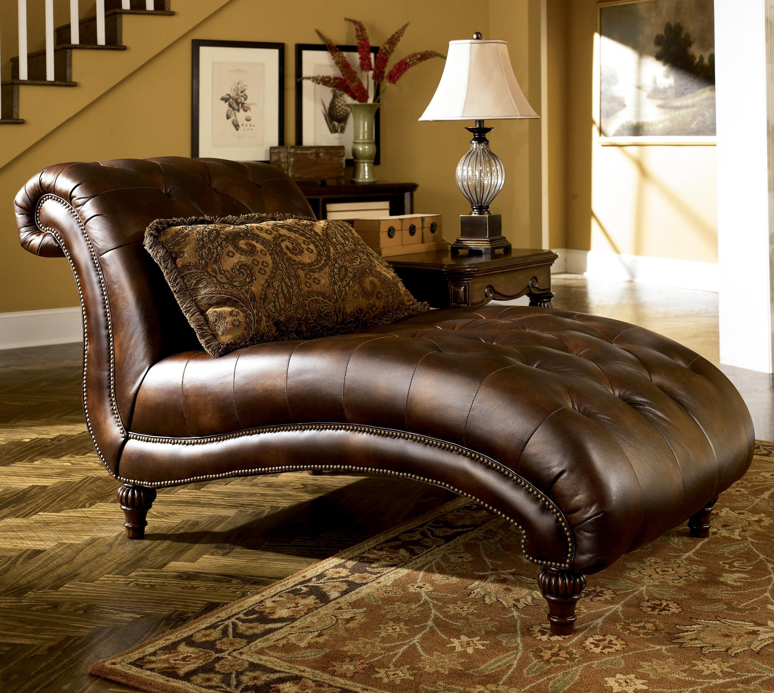 Leather Chaise Lounge Sofa | Sofa Covers | Faux leather sofa, Living ...