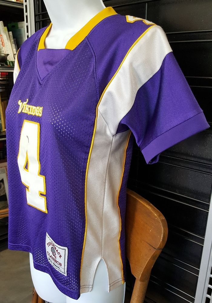 info for 5dda2 2892e Details about Brett Favre Minnesota Vikings NFL Football ...