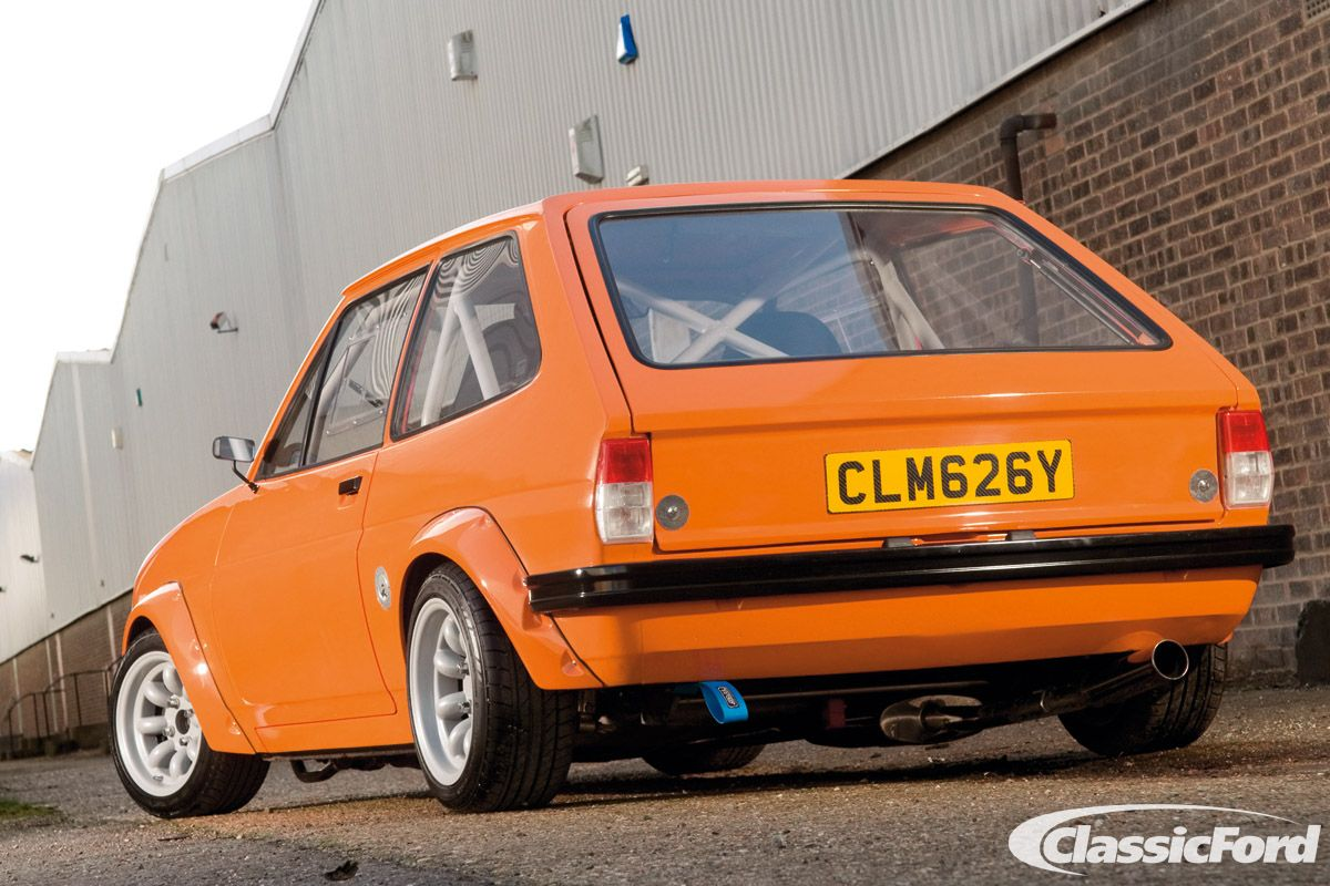 St170 Engined Mk1 Fiesta Photographed By Chris Wallbank In 2011 Ford Classic Cars Car Ford Retro Cars