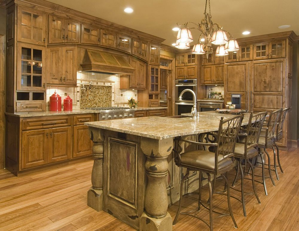arched hood, flanking cabinets, cabinets, cabinetry, kitchen ...