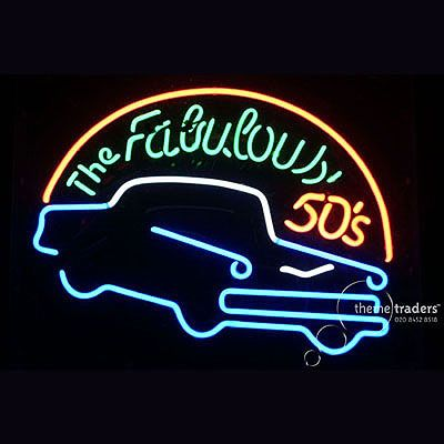 Fabulous 50s Neons   Reference: NE0796   Material: Glass, Electrics    Quantity: 2   Height: 0.54m / Crate 0.82m   Width: 0.64m / Crate 0.70m   Depth: 0.20m / Crate 0.23m   Weight: 11.00kg / Crate 10.00kg   Info: