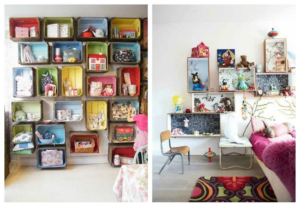 Cajas de fruta infantiles ideas cajas de madera - Caja fruta decoracion ...