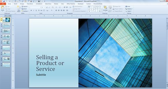Free Business Sales Template for PowerPoint Presentations ...