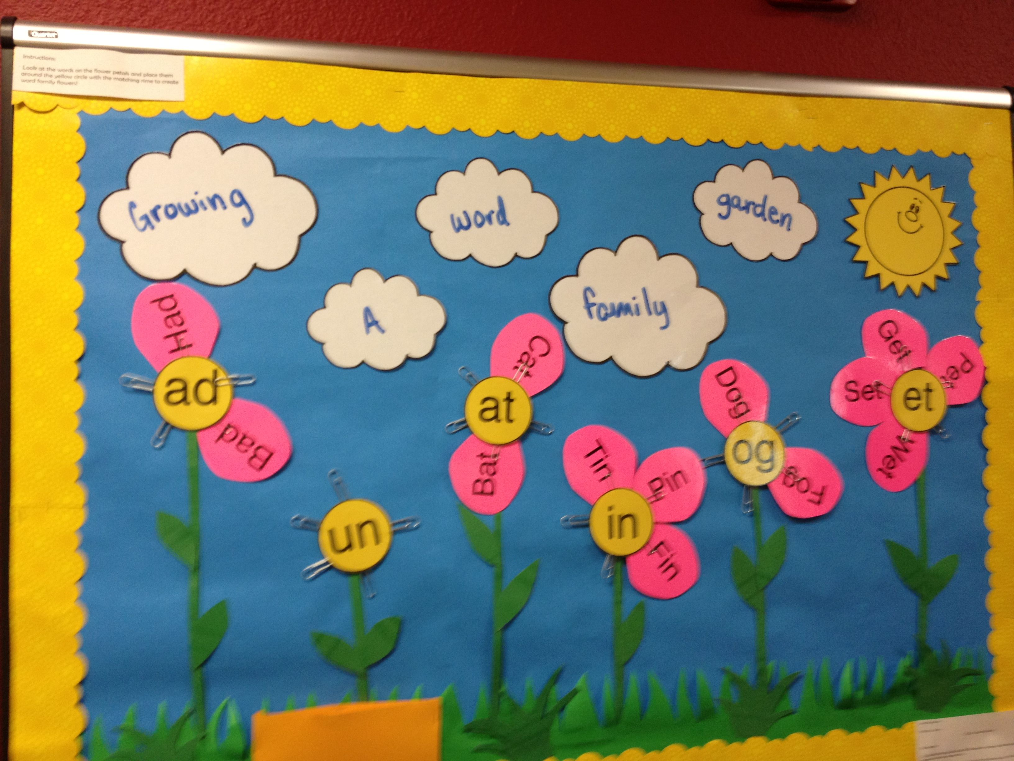 Growing A Prefix Suffiix Vocabulary Garden Word Garden