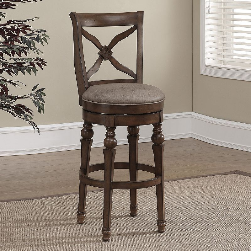AHB Livingston Counter Stool   The AHB Livingston Counter Stool Makes A  Great Addition To Any Space, And The Perfect Spot To Relax After A Hard Day.