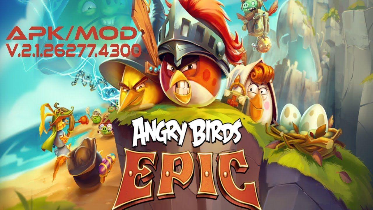 Angry Birds Epic V 2 1 26277 4300 Apk Mod Dinheiro Infinito
