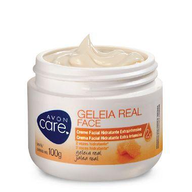 Avon Care Geléia Real Face Creme Facial Hidratante 100g