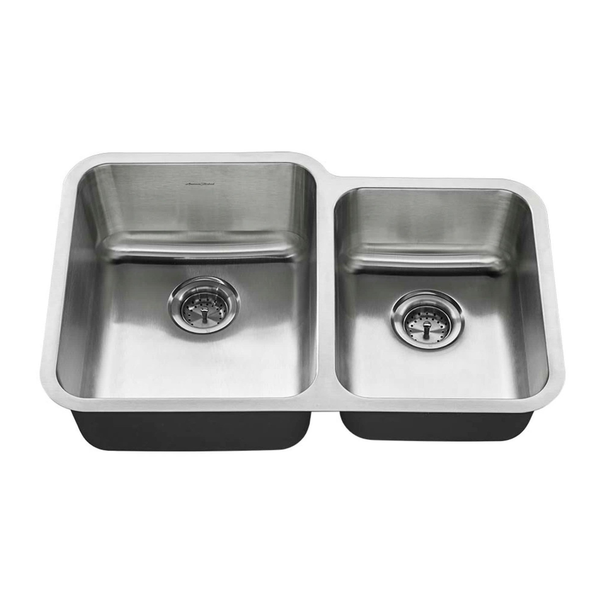 American Standard 31 Double Basin Stainless Steel Silver Kitchen