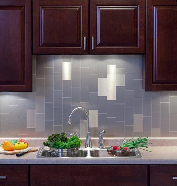 Tin Tiles For Backsplash Aspect L And Stick Metal