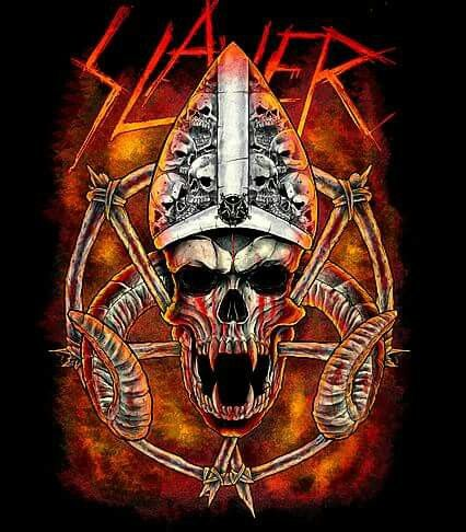 Pin By Twisted Freak On Slayer Skulls Slayer