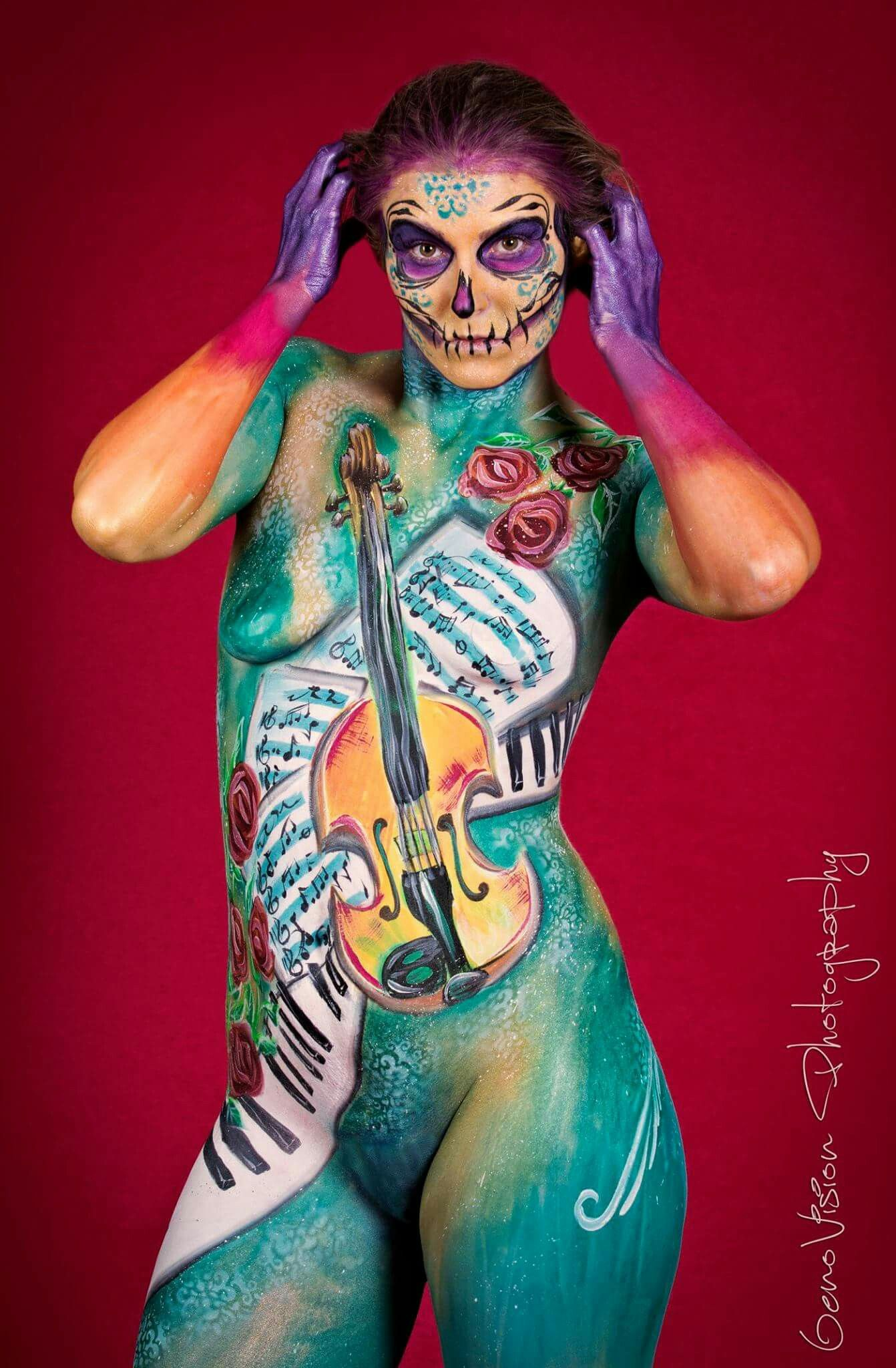 Pin by Amazing Face Painting by Linda on Amazing Body Art