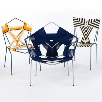 COD (Crafts Oriented Design)chairs By Rami Tareef