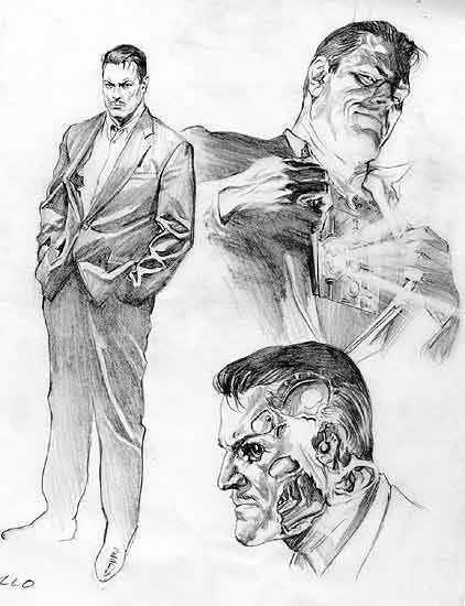Metallo Character Design By Alex Ross Com Imagens Desenhos