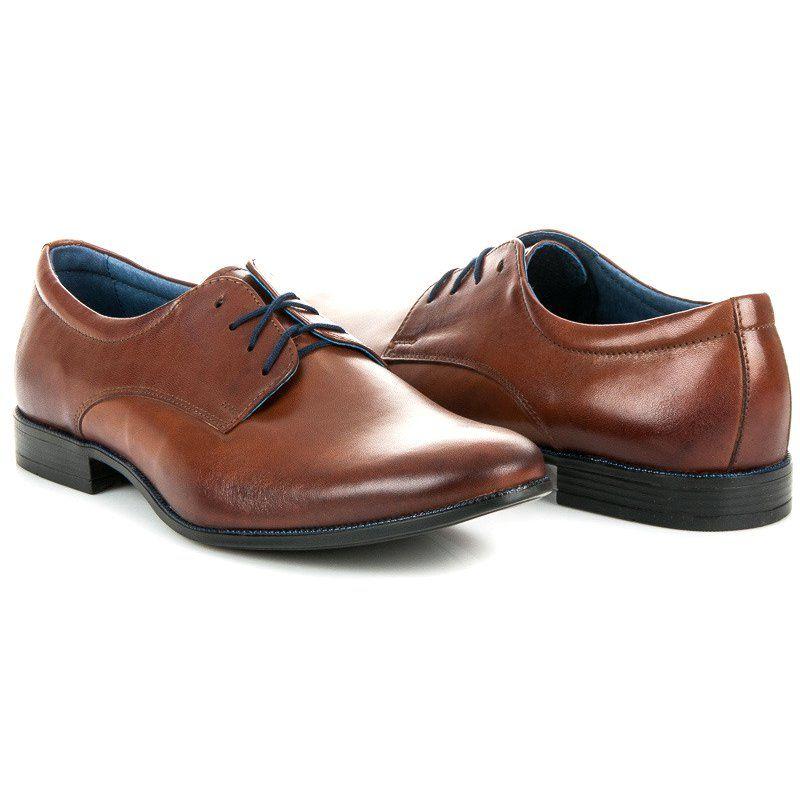 Polbuty Meskie Lucca Brazowe Polbuty Meskie Lucca Dress Shoes Men Oxford Shoes Men Dress