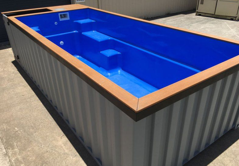 Shipping Container Pools Shipping container swimming